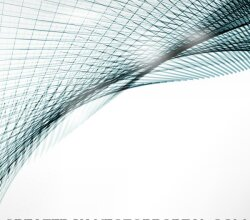 Abstract Curved Lines Background Design