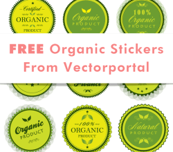 Vector Organic Stickers