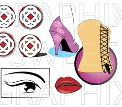 Fashion Pack – Eyes, Lips, Heels