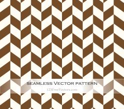Brown Chevron Seamless Pattern Vector
