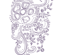 Russian Indian Pattern Vector
