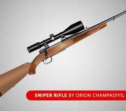 Free Sniper Rifle  Vector Art