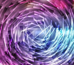 Free Abstract Blue and Purple Random Circular Lines Background
