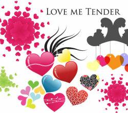 Love Me Tenderassortment Of Hearts