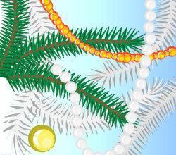 Christmas Tree Vector Illustrator Brushes