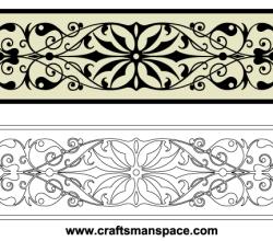 Vector Horizontal Decorative Ornaments