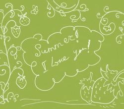 Love Summer Vector Art