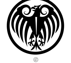 Eagle Badge Vector Image