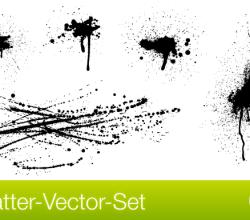 Splatter Free Vector Set