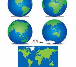 Freebie – Planet Earth Vector