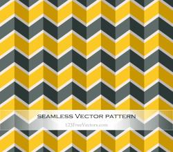 Zigzag Chevron Seamless Pattern Graphics