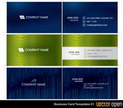 Vector Business Card Templates 01