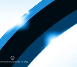 Vector Abstract Blue Wallpaper Design