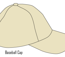 Vector Baseball Cap Template