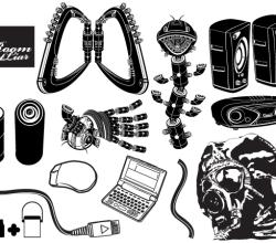 Black White Vector Pack