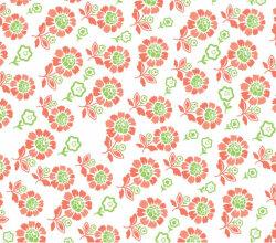 Seamless Plume Pattern