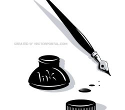 Ink Pen Clip Art