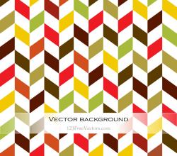 Colorful Chevron Background Illustration