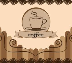 Coffee Free Vector Card Design