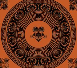 Vectors Greek Ornamental Brushes