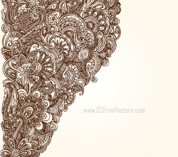 Hand Drawn Floral Designs