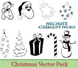 Christmas Vector Illustrator Pack