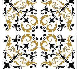 Free Square  Ornament Pattern Vector