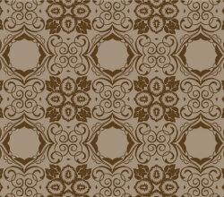 Brown Seamless Floral Wallpaper