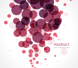 Abstract Circle Background Illustrator