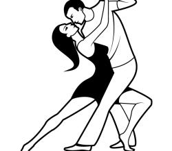 Dancing Couple Clip Art
