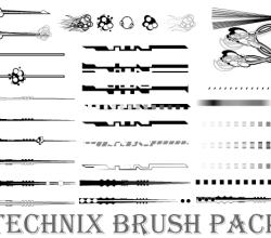 Technix Illustrator Brushes Pack