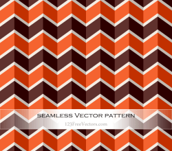 Zigzag Chevron Seamless Pattern Vector Background