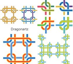 Vector Line Art Background