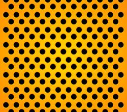 Vector Orange Carbon Background Design