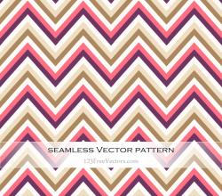 Seamless Zigzag Pattern Vector