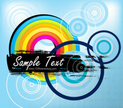 Free Abstract Blue Vector Background