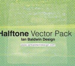 Vector Halftone Pattern Illustrator Pack