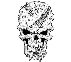 Weekly Freebie #2: Vector Skull & How Its Made