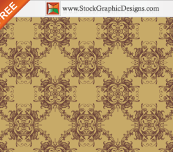 Free Ornament Seamless Pattern Vector