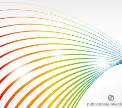 Color Lines Background Design
