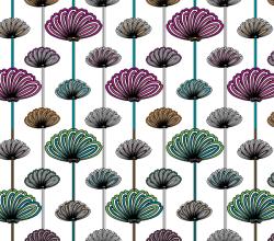 Flower Wallpaper Vector Patterns Free