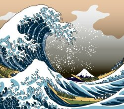 Mount Fuji Art Vector