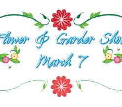 Vector Flower and Garden Show Logo