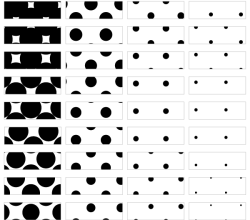 Vector Halftone Seamless Pattern