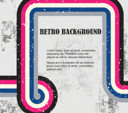 Retro Background Illustration