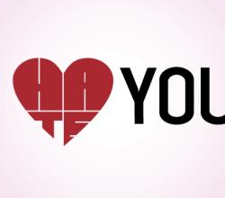 Valentine Lettering I Love You Vector