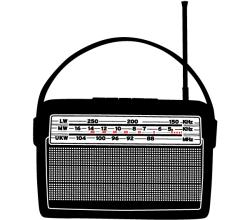 Vector Art Retro Radio