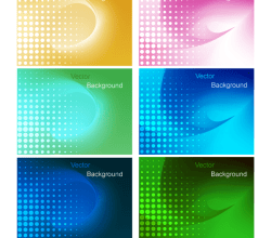 Colorful Gradient Mesh Background Design