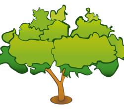 Vector Graphics Tree
