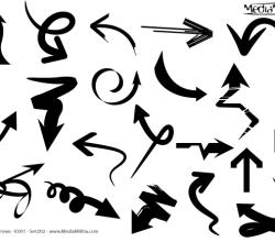 Free Arrows Vector Set 2
